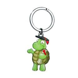 portachiavi tartaruga laureata